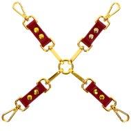 Pomůcky na bondage (svazování): Luxusní poutací kříž (Taboom)
