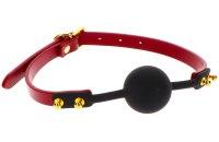 Roubíky a rozevírače úst: Luxusní silikonový roubík (Taboom)