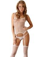Síťované erotické prádlo: Síťované prádlo - punčochy, kalhotky, topík