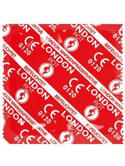 Kondom Durex LONDON jahodový, 1 ks