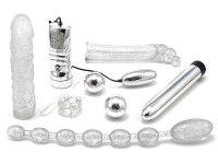 Sady erotických pomůcek: Sada Glamour (stříbrná)