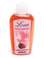 Lubrikační gely s příchutí, na orální sex: Lona - orální gel jahodový