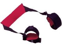 Pouta, lana a pásky (bondage): Pouta na krk a kotníky - kolébka