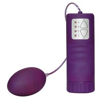 Velvet Purple Pill - vibrační vajíčko