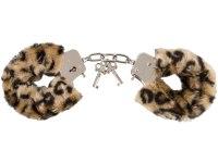 Pomůcky na lehké, něžné SM: Plyšová pouta Leopard