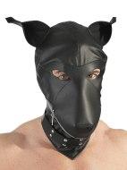 Masky, kukly a šátky na hlavu: Fetish maska psa