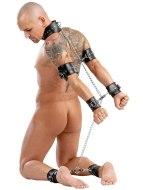 Pouta, lana a pásky (bondage): Vězeňská pouta (bondage set)