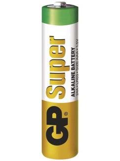 Baterie AAA (LR03) GP, alkalická