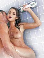 Erotický nábytek a bytové doplňky: Madlo s přísavkou Sex in the shower