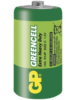Baterie C GP Greencell