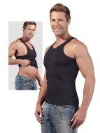 Pánská trička, tílka a topy: Perfektní břicho - pánské stahovací tričko