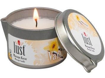 Svíčka na masáž Vanilka