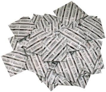 Balíček kondomů Durex LONDON XL, 50 ks
