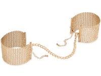 Vzrušující intimní šperky, ozdoby a bižuterie: Pouta - náramky Désir Métallique, zlatá
