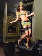 Sexy dámské kostýmy (roleplay): Sexy vojačka