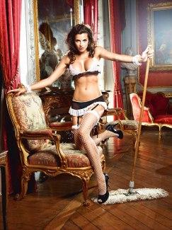 Kostým francouzské služebné