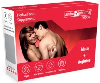 Afrodiziaka pro muže: Andropharma Vigor - tablety na pevnější erekci a delší výdrž