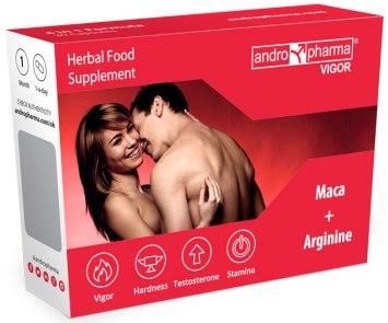 Andropharma Vigor - tablety na pevnější erekci a delší výdrž