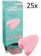 Menstruační tampony (houbičky): Menstruační houbičky Soft-Tampons MINI, 25 ks (2 ks zdarma)