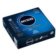 Klasické kondomy: MY.SIZE - kondom 57 mm (1 kus)