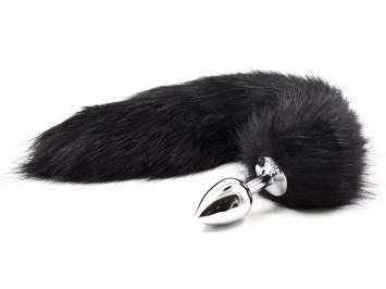 Anální kolík liščí ocásek (černý)