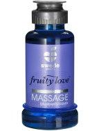 Erotické masážní oleje: Masážní emulze borůvka/černý rybíz, hřejivá