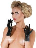 Dámské latexové oblečení: Krátké latexové rukavice