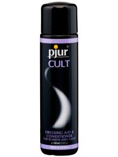 Pjur CULT - pro snadné oblékání gumy a latexu
