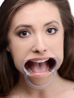 Rozevírač úst - roubík na deepthroat