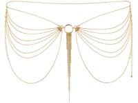 Vzrušující intimní šperky, ozdoby a bižuterie: Ozdoba na boky Magnifique, zlatá