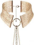 Vzrušující intimní šperky, ozdoby a bižuterie: Obojek - náhrdelník Désir Métallique, zlatý