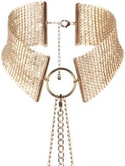 Obojek - náhrdelník Désir Métallique, zlatý