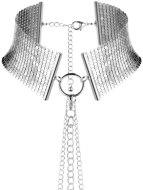Vzrušující intimní šperky, ozdoby a bižuterie: Obojek - náhrdelník Désir Métallique, stříbrný