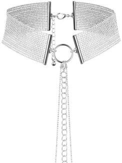 Obojek - náhrdelník Magnifique, stříbrný