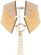 Úžasné ozdoby na krk a ozdobné obojky: Obojek - náhrdelník Magnifique, zlatý
