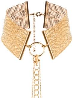 Obojek - náhrdelník Magnifique, zlatý