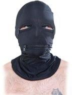 Masky na hlavu, kukly a šátky: Maska na hlavu se zipy