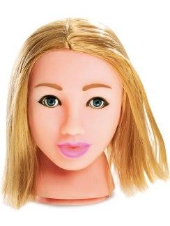 Něžná blondýnka - masturbátor Fuck My Face