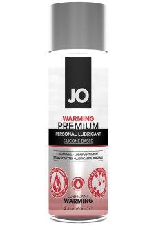Silikonový lubrikační gel System JO Premium Warming - hřejivý