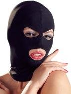 Masky, kukly a šátky na hlavu: Maska s otvory pro oči a ústa, černá