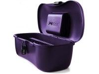 Kufříky, boxy, tašky - uskladnění erotických pomůcek: Hygienický kufřík na pomůcky Joyboxx, fialový