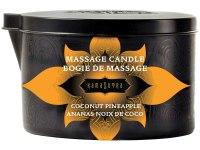 Svíčky s masážními oleji: Masážní olejová svíčka Ignite Coconut Pineapple