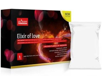 ELIXIR OF LOVE - rozpustné afrodiziakum pro muže i ženy
