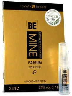 Parfém s feromony pro ženy BeMINE - VZOREK