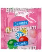 Kondomy s příchutí: Kondom Pasante Bubblegum Burst, sladká žvýkačka