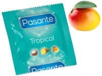 Kondomy s příchutí: Kondom Pasante Tropical Mango
