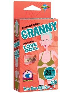 Nafukovací babička GRANNY (cestovní velikost)