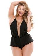 Sexy body: Luxusní body Cassandra s ozdobným řetízkem
