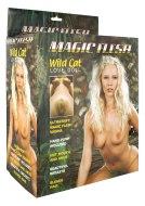 Nafukovací panny: Nafukovací panna Magic Flesh Wild Cat s 3D obličejem