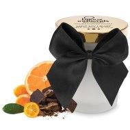 Svíčky s masážními oleji: Masážní svíčka Melt My Heart - hořká čokoláda a citrus